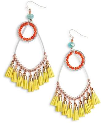 Nakamol Design Tassel Drop Earrings