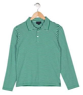 Oscar de la Renta Boys' Stripe Knit Shirt