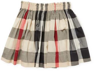 Burberry Girl's Check Skirt