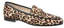 Sam Edelman Lorraine Animal-Dot Calf Hair Loafers