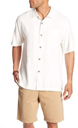 Tommy Bahama Sips Ahoy Short Sleeve Original Fit Silk Shirt
