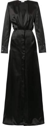 Thierry Mugler deep v-neck dress
