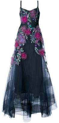 Marchesa embellished floral gown
