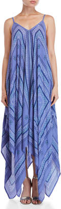 Accessory Street Bandana Print Maxi Cover-Up Dress