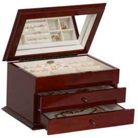 Mele Brayden Wooden Jewelry Box