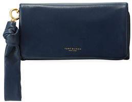 Tory Burch Beau Napa Leather Wristlet Wallet