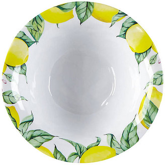 Q Squared Set of 4 Limonata Melamine Cereal Bowls - Yellow