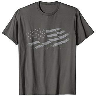American Vintage Distressed Flag T-Shirt US Patriotic