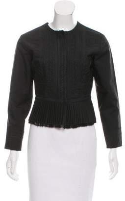 Maison Margiela Embroidered Silk Jacket