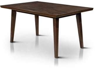 Furniture of America Lailina Mid-Century Dining Table, Gray
