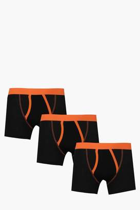 boohoo 3 Pack A Front Boxers