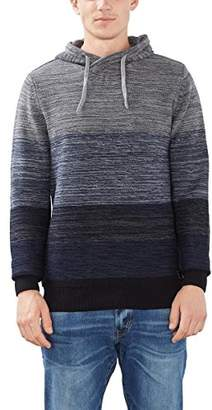 Esprit edc by Men's 096CC2I010 Jumper, Blue (Navy)