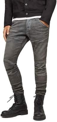 b03fbbb5665 G Star 5620 3D Knee Zip Super Slim in Loomer Gray