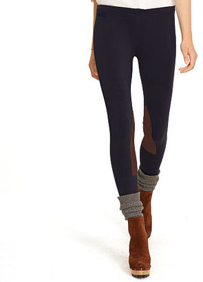 Polo Ralph Lauren Suede-Patch Jodhpur Legging $98.50 thestylecure.com
