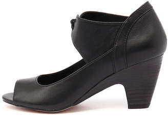 Django & Juliette New Klippa Black Womens Shoes Dress Shoes Heeled