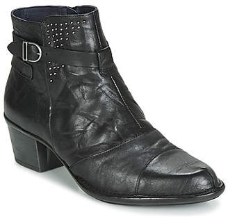 Dorking DALMA women's Low Ankle Boots in Black