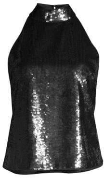 Joie Lei Lei Sequin Halterneck Top