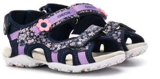 Geox Kids flower sandals