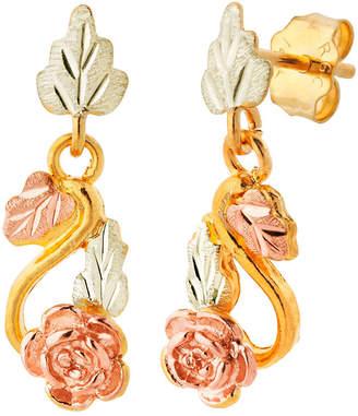 LANDSTROM'S BLACK HILLS GOLD Landstroms Black Hills Gold 10K Gold Drop Earrings
