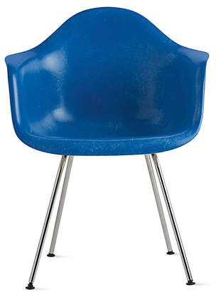 Design Within Reach Herman Miller Eames Molded Fiberglass 4-Leg Armchair (DFAX) at DWR