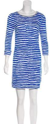 Trina Turk Striped Mini Dress