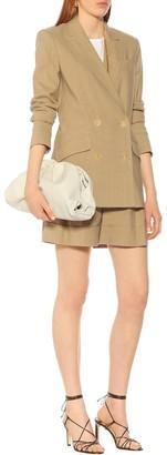 Diane von Furstenberg Madison double-breasted linen blazer