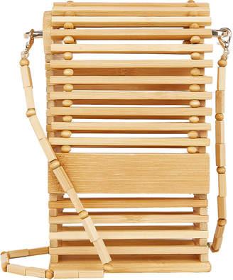 Cult Gaia Sylva Bamboo Cage Crossbody