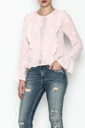 Ark & Co Pullover Ruffle Blouse