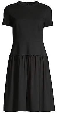 Elie Tahari Women's Jay Ruffle Hem Dress - Size 0