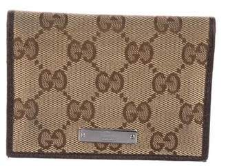 Gucci GG Canvas Card Holder