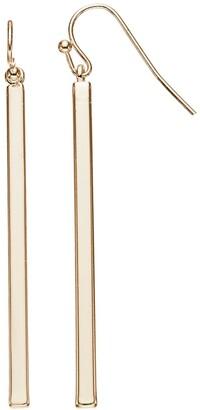 Lauren Conrad Stick Linear Drop Earrings