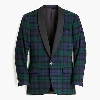 J.Crew Ludlow slim-fit dinner jacket in Black Watch tartan