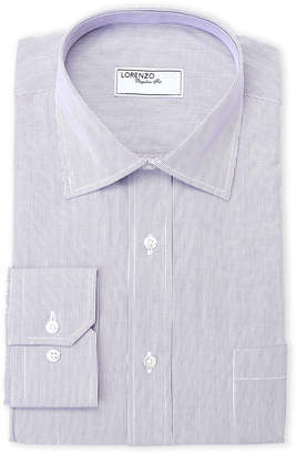 Lorenzo Uomo Purple Stripe Dress Shirt