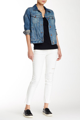 Jolt Slit Knee Skinny Jean (Juniors) $48 thestylecure.com