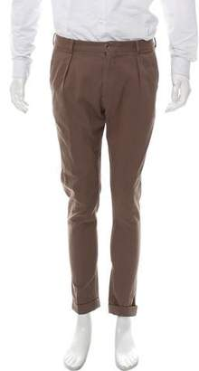 Paul Smith Woven Flat Front Pants