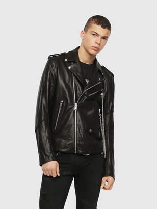Diesel Leather jackets 0AAWK - Black - S