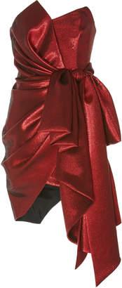 Alexandre Vauthier Oversized Bow Mini Dress