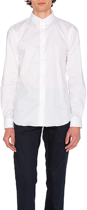 SATURDAYS NYC Reed Shirt in White $150 thestylecure.com