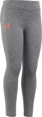 Under Armour Little Girls Wordmark Legging