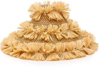 Eric Javits Tiki Lantern Sloped Hat
