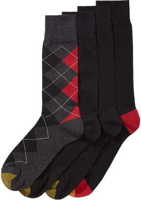 Gold Toe Men's 4-Pk. Argyle Socks