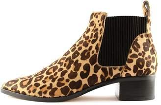 Dolce Vita Macie Leopard Bootie