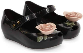 Mini Melissa Beauty Rose Shoes $55 thestylecure.com