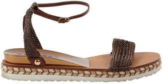 Casadei Leather flip flops