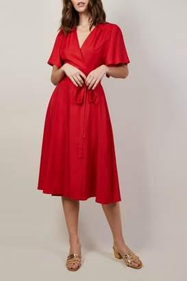 Aesa FRNCH Wrap Dress