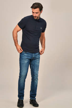 BOSS Mens Delaware Slim Fit Jean - Blue