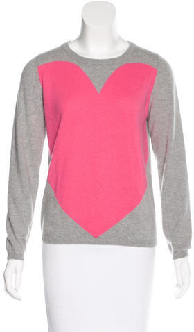 Chinti And Parker Chinti and Parker Cashmere Heart Sweater