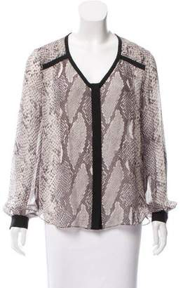 Diane von Furstenberg Lane Silk Top