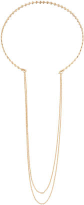 Panacea Open-Front Choker Necklace w/ Layered Chain