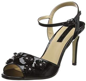 Dorothy Perkins Women's Scarlett Sandal Open-Toe Heels,38 EU